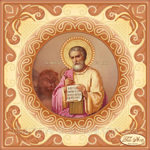 Схема для вишивки бісером ікона Святий Апостол і Євангеліст Марк