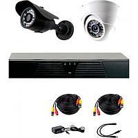 Комплект проводного видеонаблюдения CoVi Security AHD-11WD KIT+ HDD500