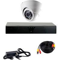 Комплект проводного видеонаблюдения CoVi Security AHD-1D KIT