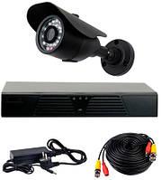 Комплект проводного видеонаблюдения CoVi Security AHD-1W KIT