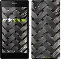 "Чехол на Sony Xperia Z2 D6502/D6503 Металлические фоны ""2927c-43"""