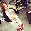 """Женское модное кашемировое пальто """" Маки* (размеры 42, 44, 46, 48)"""