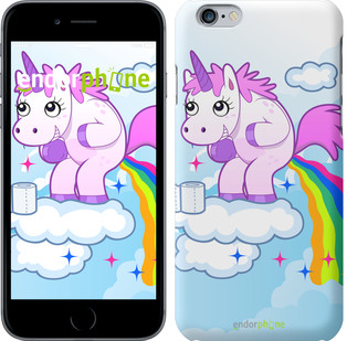 "Чехол на iPhone 6 Единорожка ""3796c-45"""