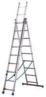 Лестница ТUBESKA Starline 3х10, Франция. строительная лестница. купить лестницу Киев., фото 1