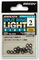 Заводное кольцо Decoy Split Ring №0 15lb (20шт)