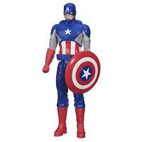 Капитан Америка (Marvel Titan Hero Series Captain America),30см, Hasbro