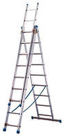 Лестница ТUBESKA Starline 3х12, Франция. выдвижная лестница. выдвижная лестница. лестница алюминиевая, фото 1