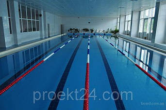 Дорожка разделительная для бассейна 25 м