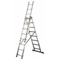 Лестница ТUBESKA Pronor 3х14, Франция. професиональная лестница. лестница професиональная