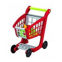 Игровой набор «Ecoiffier» (1225) тележка для супермаркета с продуктами, 13 предметов