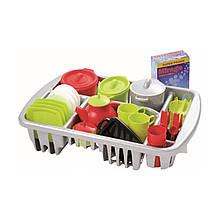 Игровой набор «Ecoiffier» (001210) набор посуды Pro-Cook c cушилкой, 45 предметов
