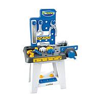 Игровой набор «Ecoiffier» (2404) мини-мастерская с верстаком, тисками и молотком, 25 предметов