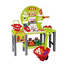 Игровой набор «Ecoiffier» (001747) продуктовый супермаркет Chef с корзинами и продуктами, 34 предмета