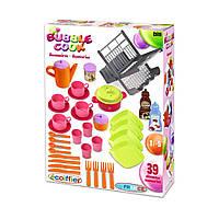Игровой набор «Ecoiffier» (2619) набор посуды Chef-Cook, 39 предметов