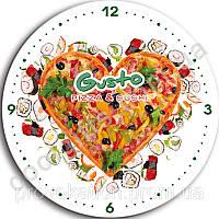 Сувенирные настенные часы с логотипом