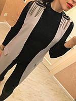Женский модный жилет с погонами (3 цвета) белый, M