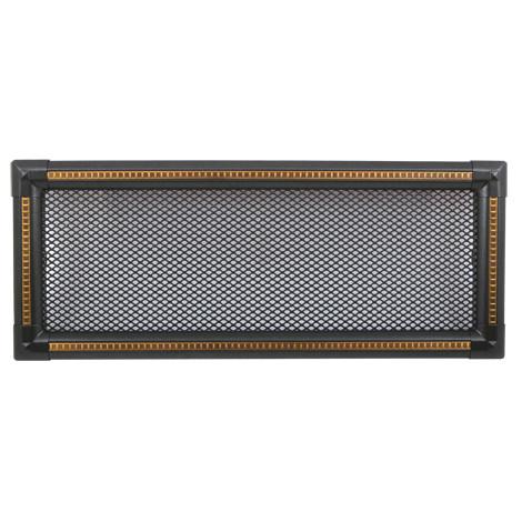Вентиляционная каминная решетка Exclusive, графит/медная патина 16х45 - Ваш Комин в Ужгороде