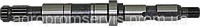 Вал опоры позитора резьба шлиц 54-62-612 комбайн нива ск-5