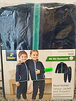 Комплект детский из велюровой ткани Tchibo Германия 98/104