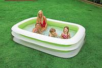 Надувной детский бассейн Intex 56483 , 262 x 175 х 56см