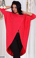 Туника женская стильная свободного кроя XL+ (3 цвета)