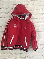 Куртки детские для мальчика. 4-11