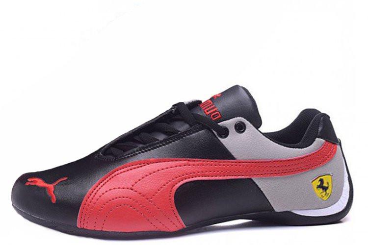 Мужские кроссовки Puma Ferrari Low black-red - Интернет магазин обуви  Shoes-Mania в 198b9da45f0