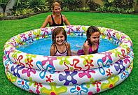 Надувной детский бассейн Интекс 56440 168х41см