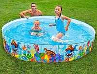 Детский каркасный бассейн 56453 Intex 244х46 см