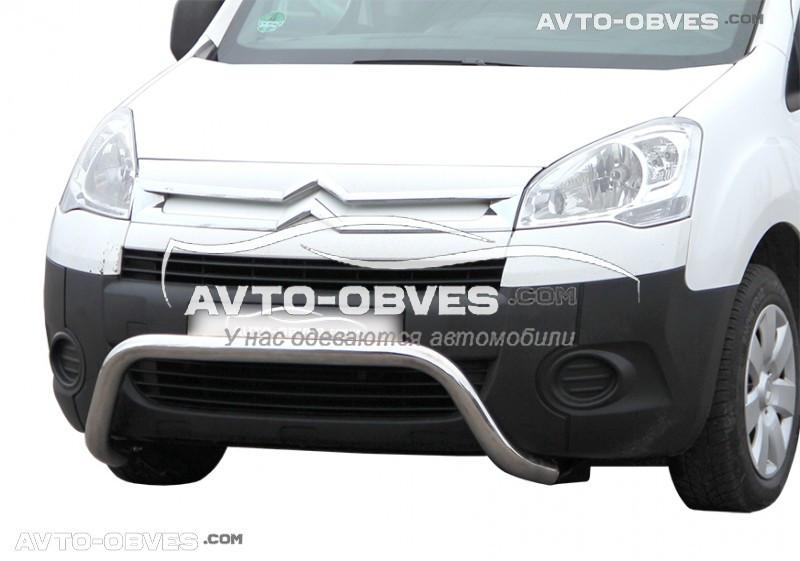 Защитная дуга подкова для Peugeot Partner