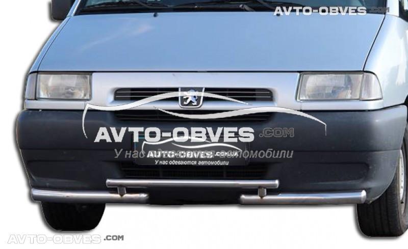 Захист переднього бампера Fiat Scudo 1998-2007