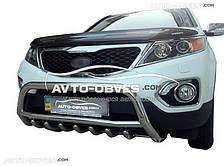 Защита переднего бампера для Киа Соренто 2010-2012