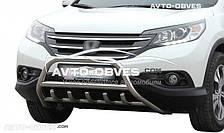 Передний кенгурятник модельный для Хонда ЦРВ 2013-2016, Ø 51 мм