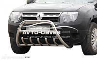 Защита переднего бампера Dacia Duster штатная