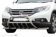 Штатный кенгурин Honda CR-V 2013-2016, полная защита бампера