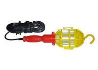 Светильник ручной с проводом длиной 15 м, Светильник переносной ПВС2*0,5 15м