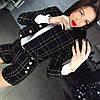 """Женский модный твидовый костюм """"Chanel"""": пиджак и шорты (4 цвета)"""