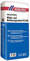 Клей для пенопласта и мин. ваты армирующий Krauthеrm Klebe- und Armierungsmörtel 95 UNI, 25кг