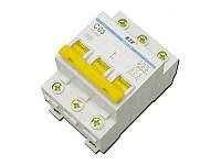 Автоматический выключатель ВА 47-29 3P 63A 4.5кА х-ка C ИЭК