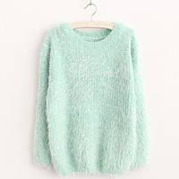 Женский красивый теплый свитер травка (3 цвета)