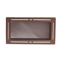 Вентиляционная каминная решетка Trend, блестящий коричневый