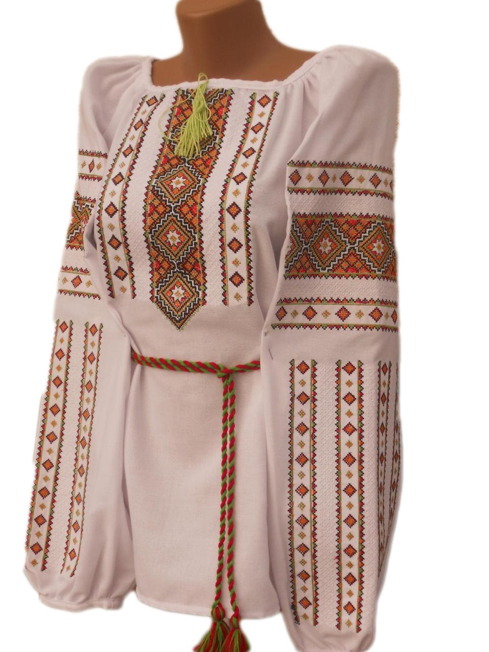 """Женская вышитая рубашка """"Нейтли"""" BN-0087"""
