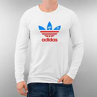 Лонгслив мужской футболка с длинным рукавом мужская Adidas