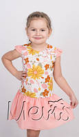 Красивое детское платье для девочек рост от 98 до 116
