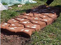 Виготовлення садової доріжки за допомогою пластикової форми
