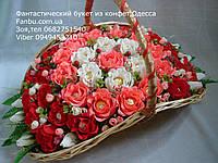 """Букет из конфет""""Порыв чувств""""№37+8"""