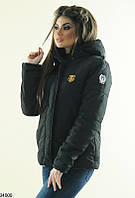 Куртка женская молодежная весенняя с капюшоном (2 цвета)
