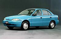 Лобовое стекло Hyundai Accent,Хюндай Аксент(1994-1997)AGC