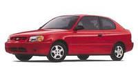 Лобовое стекло Hyundai Accent II,Хюндай Акцент(2000-2006)AGC