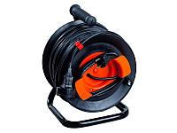 Удлинитель на катушке У16-03 ПВС 2х1,5 с выносной розеткой без теплозащиты шнура 30 м